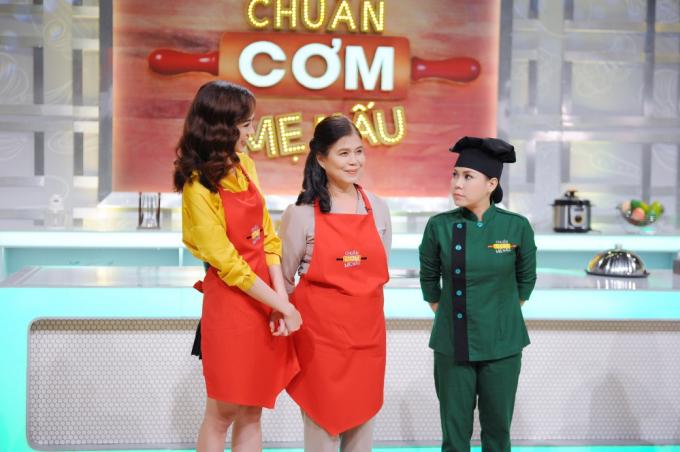 Kiều Ngân lần đầu so tài nội trợ với Chế Nguyễn Quỳnh Châu