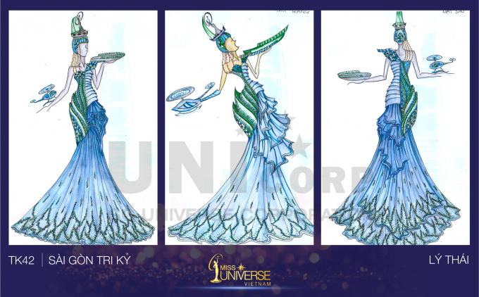 Hé lộ những thiết kế trang phục dân tộc cho đại diện Việt Nam tham gia Miss Universe 2017