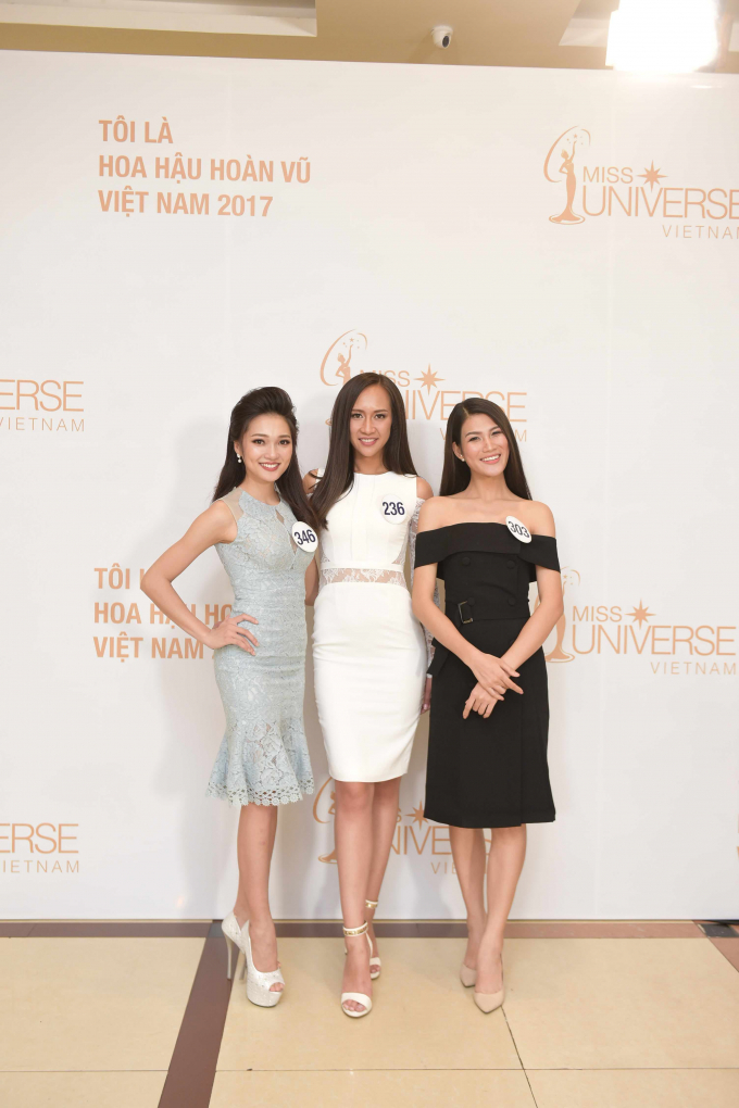 Lộ diện những ứng viên nổi bật tại sơ khảo miền Bắc Hoa Hậu Hoàn vũ Việt Nam 2017