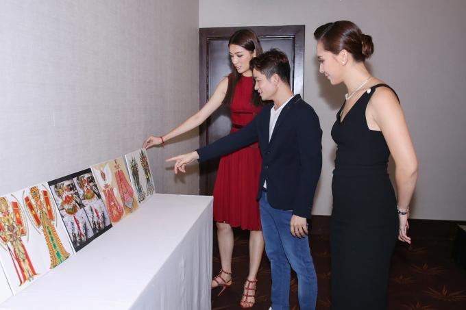 """""""Hồn Việt"""" chính thức trở thành trang phục dân tộc cho đại diện Việt Nam tại Miss Universe 2017"""