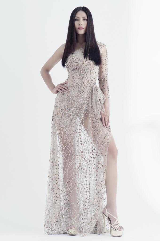 Á hậu Nguyễn Thị Loan được đề cử đại diện Việt Nam tham gia Hoa hậu Hoàn vũ Thế giới