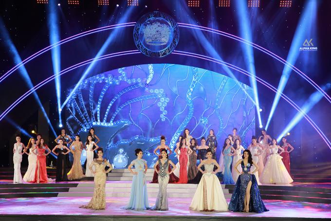 Vương miện 3,2 tỷ của Hoa hậu Đại Dương Việt Nam 2017 thuộc về Lê Âu Ngân Anh