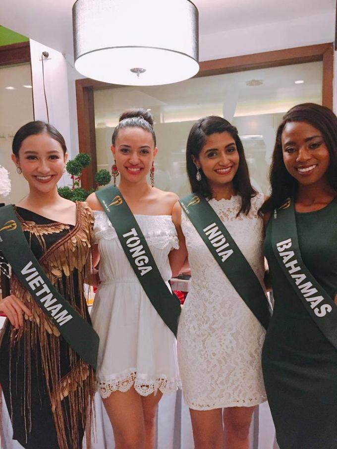 Nhìn lại hành trình thành công của Hà Thu trước thềm chung kết Miss Earth