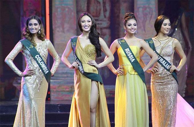 Top 4 Hoa hậu Trái đất.