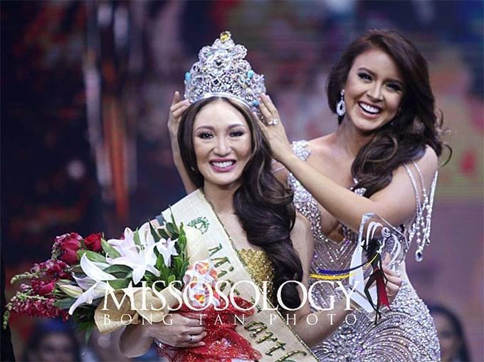 Hoa hậu Trái đất thuộc về chủ nhàPhilippines.