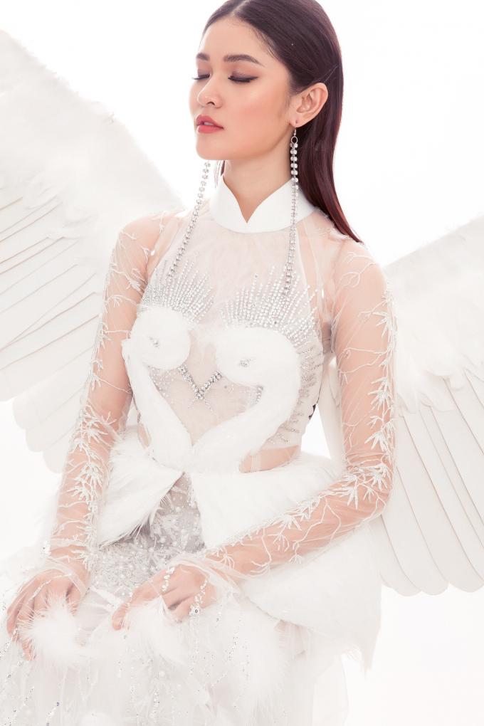 Á hậu Thùy Dung mang hình ảnh con cò của nông thôn Việt Nam đến Miss Intetnational 2017