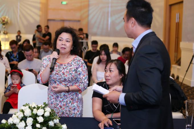 Bà Nguyễn Thị Thắm - Giám đốc Bảo tàng.