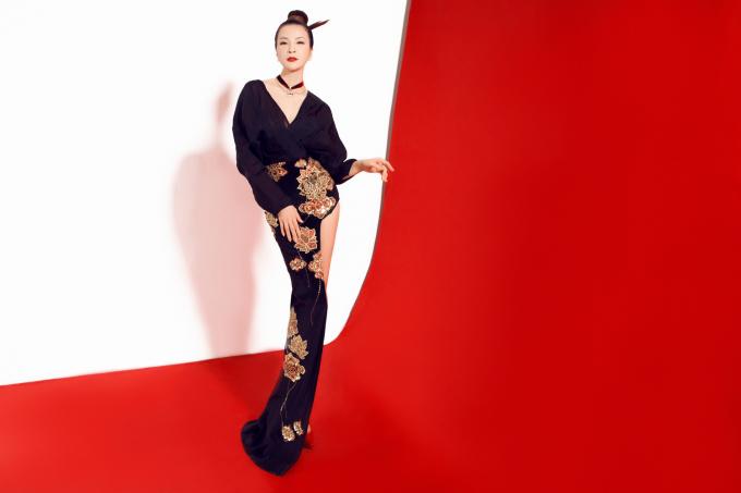 Thanh Mai ấn tượng trong bộ sưu tập Dream East - Giấc mơ Á Đông