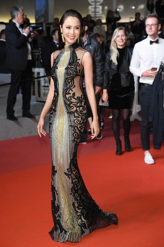 Chiếc đầm ngày hôm trước Vũ Ngọc Anh mặc tại thảm đỏ Cannes vốn của thương hiệu Labourjoisie (một thương hiệu ít tiếng) nhưng lại công bố là của thương hiệuElie Saab cao cấp và bị cộng đồng mạng chỉ trích.