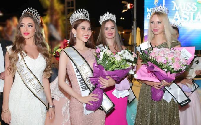 Chi Nguyễn giành danh hiệu Hoa hậu Châu Á Thế giới.