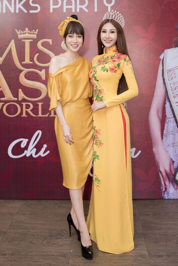 Hoa hậu Châu Á Thế giới Chi Nguyễn chia sẻ về sự cố trước khi giành ngôi vị