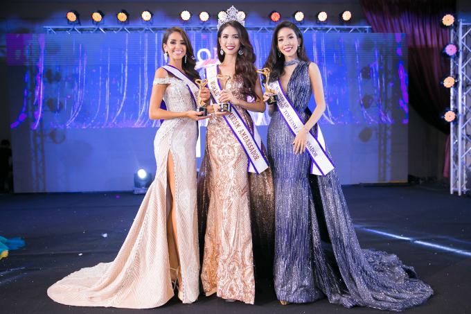 Ngôi vị Á hậu 1 thuộc về đại diện Thái Lan; Ngôi vị Á hậu 2 thuộc về đại diện Bolivia; Ngôi vị Á hậu 3 thuộc về đại diện Mongolia.