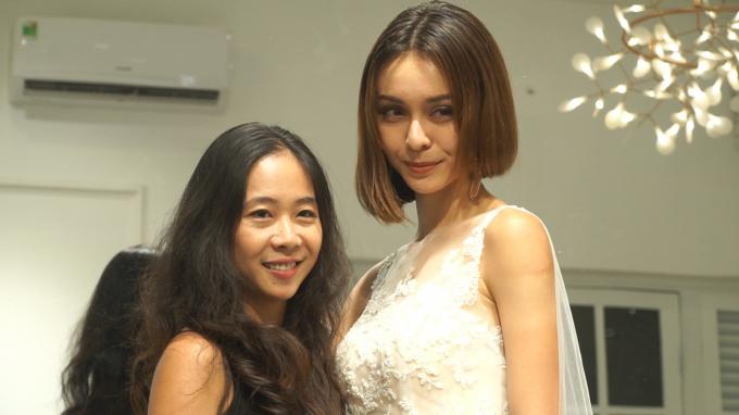 Pháp Luật Plus - Cá sấu Quỳnh Nga cùng đọ váy cưới với Mlee