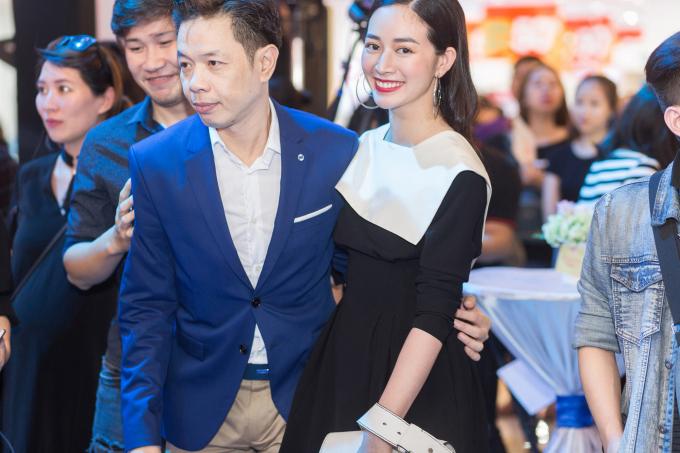 """Mai Thanh Hà tươi trẻ cùng Thái Hòa trong buổi ra mắt """"Chàng vợ của em"""""""