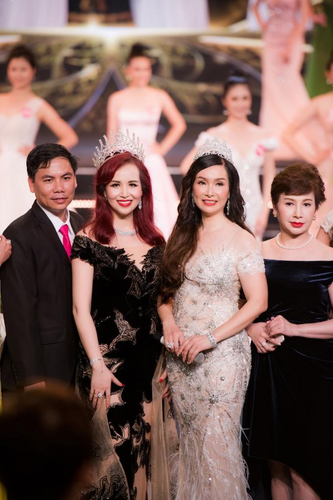 Diệu Hoa, Hà Kiều Anh cùng đọ sắc với váy Hoàng Hải