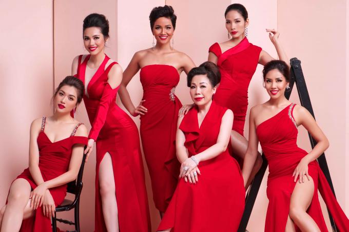 Mãn nhãn với nhan sắc nữ thần của các Hoa hậu, Á hậu Hoàn vũ Việt Nam trong bộ ảnh mới
