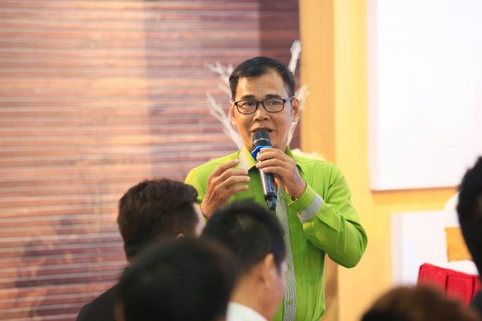 Nghệ sĩ Duy Hà.
