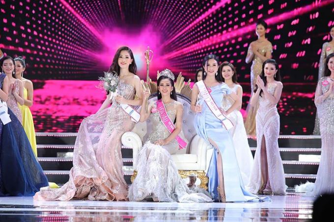 Trần Tiểu Vy trở thành tân Hoa hậu Việt Nam 2018.