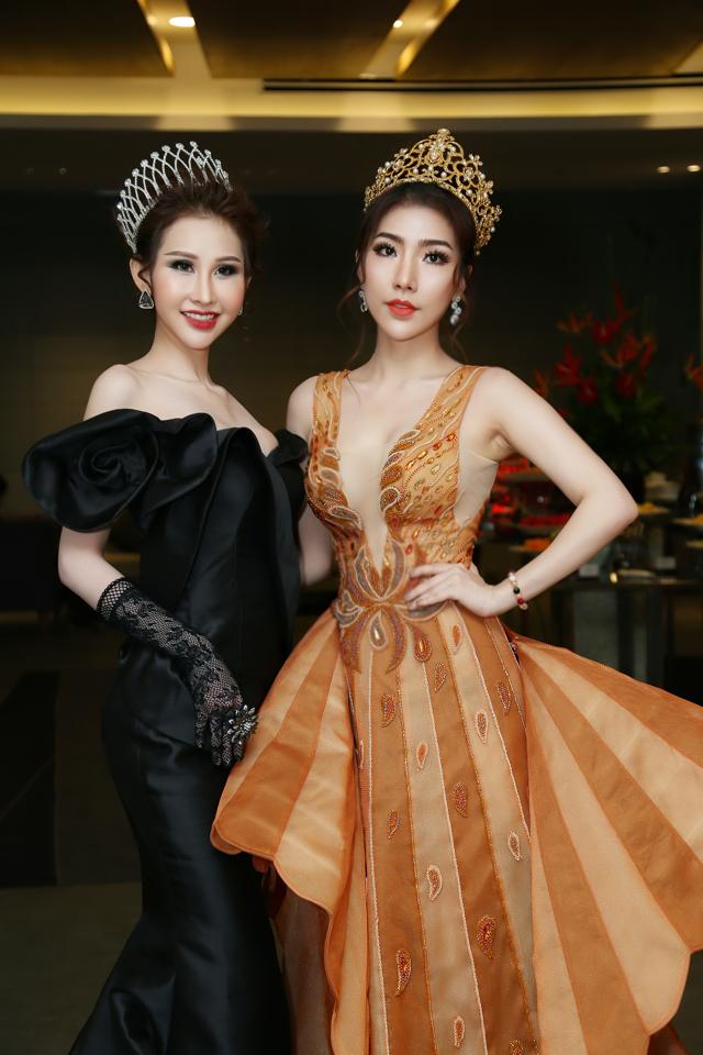 Hoàng Y Nhung và Hoa hậu Chi Nguyễn.