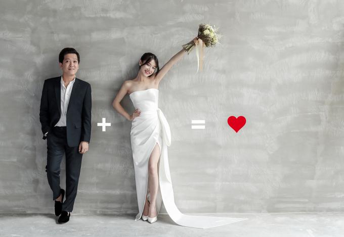 Nhã Phương - Trường Giang đi dép tổ ong nghìn lỗ chụp ảnh cưới