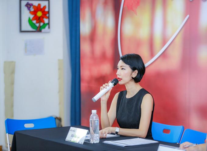 Xuân Lan tổ chức buổi casting tại Hà Nội.