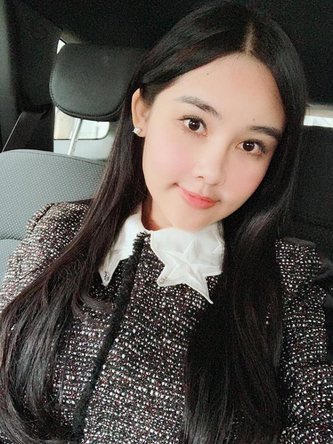 Hoa hậu Ngân Anh.