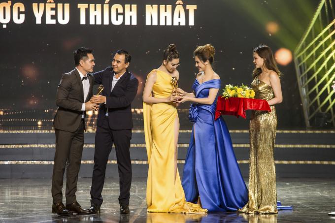 Thuý Ngân là một trong những đề cử của hạng mục'Nữ diễn viên Điện ảnh Truyền hình được yêu thích'với vai diễn 'Hân' trong phim