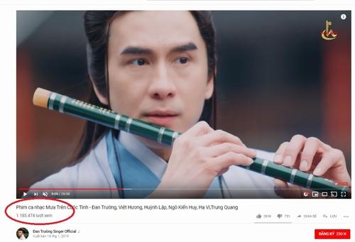 MV đạt lượng xem khủng sau khi ra mắt.