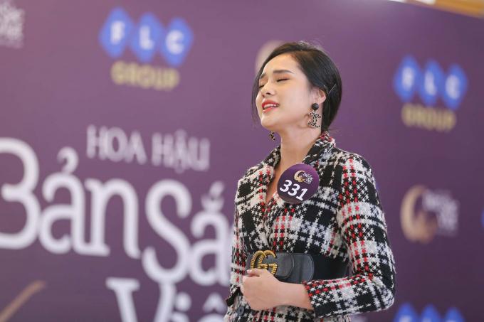 Trước câu hỏi vì sao bản thân miệt mài đi thi sắc đẹp, Huyền Trang cho biết các cuộc thi nhan sắc không chỉ là cơ hội đổi đời của nhiều cô gái trẻ, mà quan trọng hơn, còn là cơ hội để học tập, trau dồi và giao lưu.