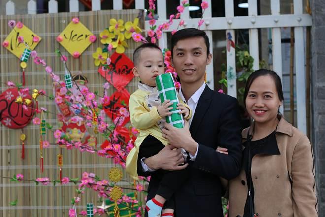 Trải nghiệm Tết truyền thống cho các bé tại Hội chợ Tết Xuân yêu thương