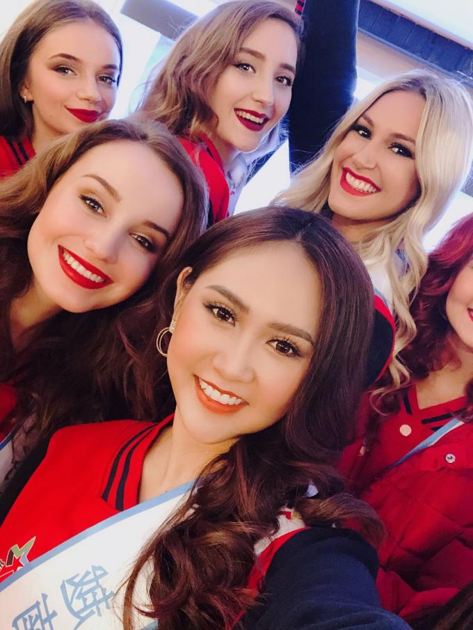 Trúc Ny đại diện Việt Nam tham gia Miss All Nations.