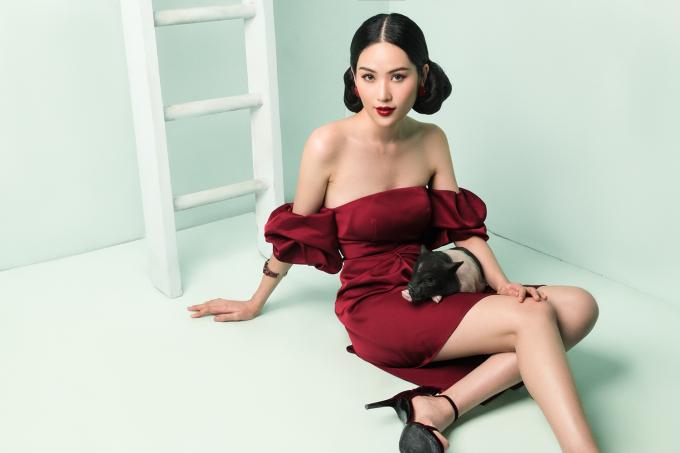 Nam Anh biến hóa bất ngờ với hình ảnh cô gái lạnh lùng, cá tính đón Tết