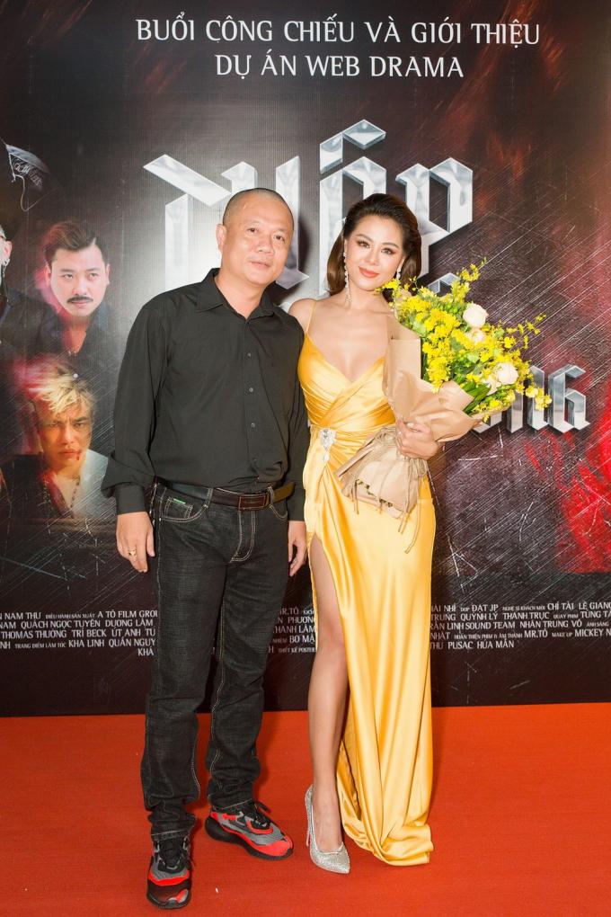 Nam Thư và Trần Bùm.