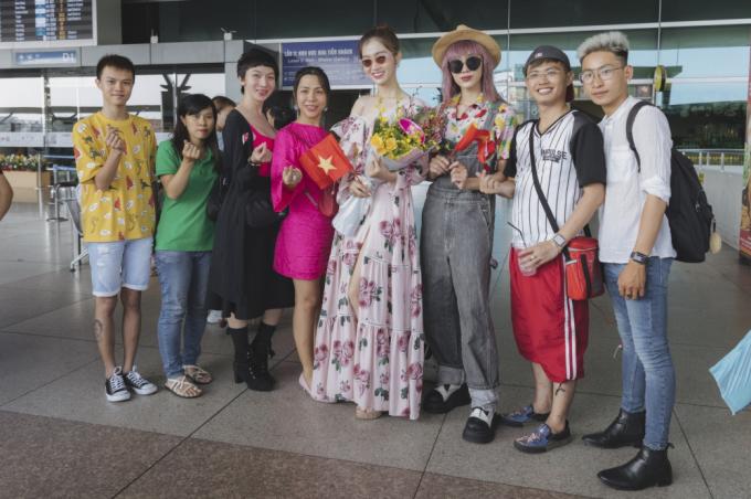 Người kế nghiệm Hương Giang lên đường sang Thái dự thi Miss International Queen 2019