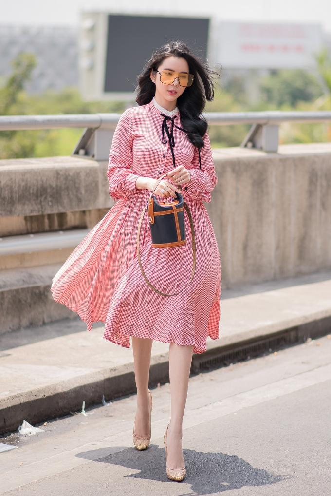 Huỳnh Vy phản bác quan niệm người đẹp là phải xài hàng hiệu