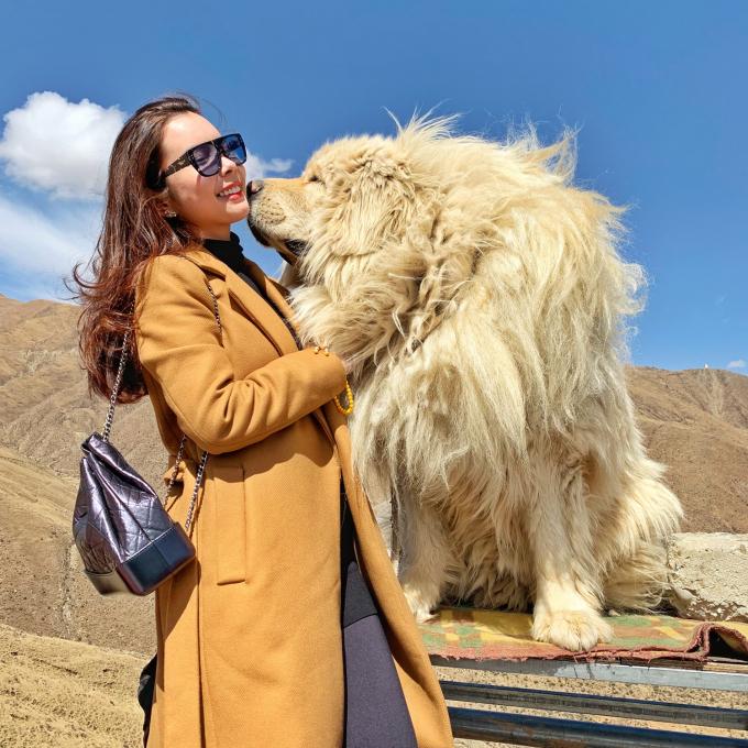 Cô có nhiều trải nghiệm thú vị ở Tây Tạng.