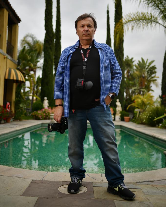 Nhiếp ảnh gia Caesar Lima.