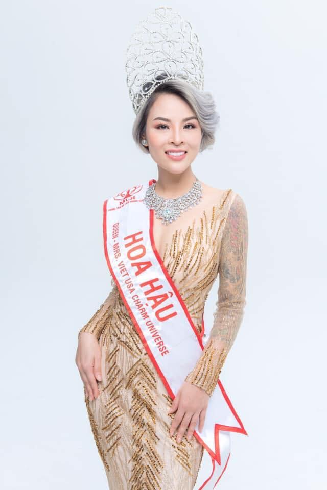 Hoa hậu Thúy Vi.