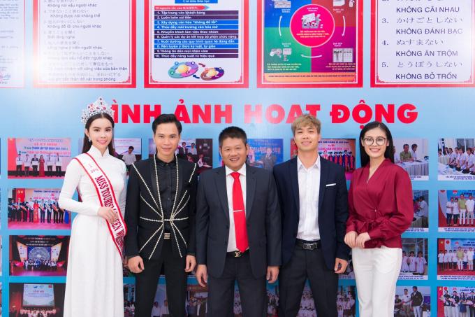 Huynh Vy, Cong Phuong tro thanh dai su cua nha truong.