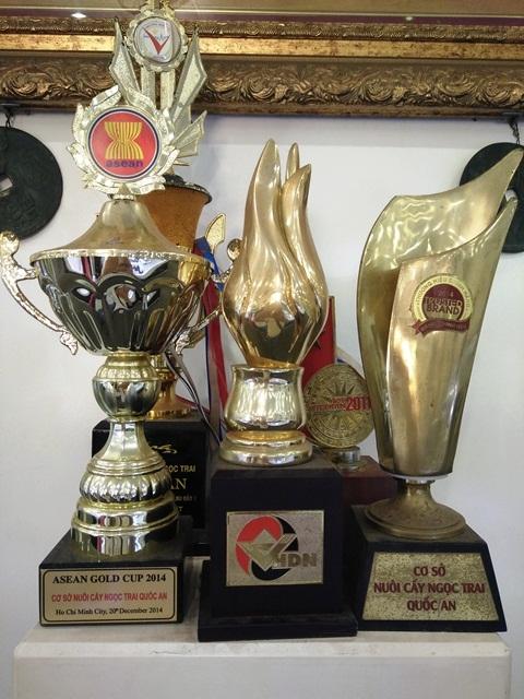 Sản phẩm Ngọc trai Quốc An được đánh giá cao trên thị trường.
