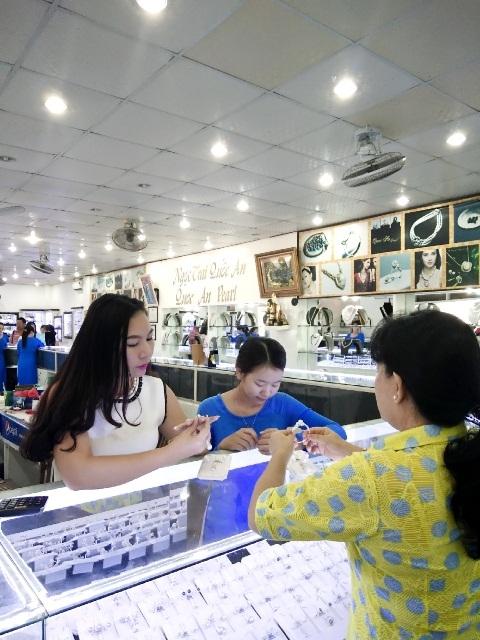 Ngọc Trai Quốc An được ưa chuộng bởi chất lượng và thiết kế đẹp mắt.