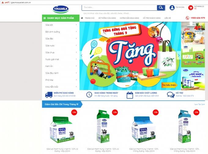 Trong đợt ra mắt chính thức vào tháng 10 này,Giấc Mơ Sữa Việtđang có đợt khuyến mãi 5%, chương trình mua 1 tặng 1, và các quà tặng hấp dẫn khác.