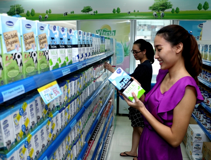 Từ tháng 10/2016, khách hàng của Vinamilk ngoài việc mua hàng tại các cửa hàng truyền thống còn có thêm kênh mua hàng trang thương mại điện tử Giấc mơ sữa Việt nhanh chóng và thuận tiện hơn.