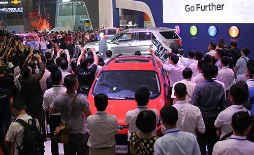 Việt Nam Motor Show 2016 bắt đầu từ ngày 5/10 với các buổi họp báo, ra mắt. Triển lãm mở cửa cho công chúng từ 6/10.