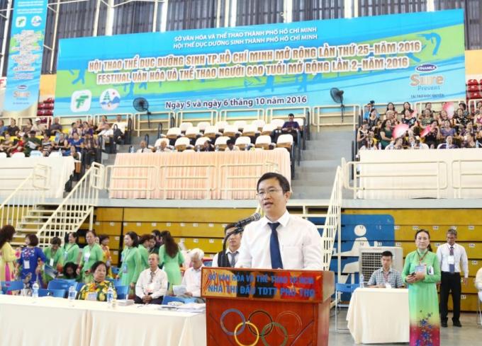 Ông Mai Thanh Việt – Giám đốc Marketing ngành hàng Sữa Bột Vinamilk chia sẻ về hành trình chăm sóc sức khỏe cho người cao tuổi của Vinamilk.