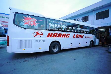 Nhà xe Hoàng Long nhiều lần bị hành khách phản ánh về chất lượng dịch vụ và thái độ phục vụ khách hàng. (Ảnh: Internet).