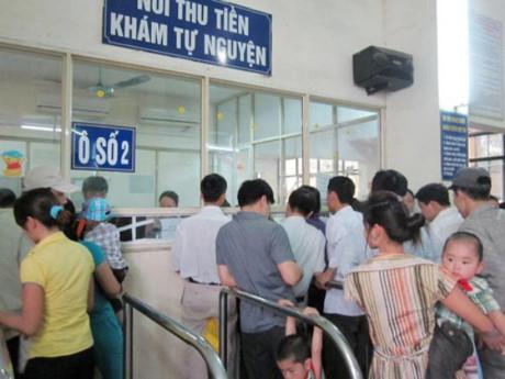 Dự kiến từ 1-8 tới, các bệnh viện của Hà Nội sẽ đồng loạt tăng viện phí