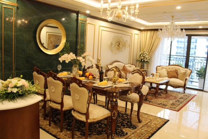 Tân Hoàng Minh tri ân khách hàng và khai trương căn hộ mẫu D'. LE ROI SOLEIL