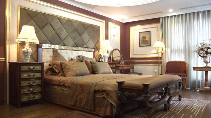 Phòng ngủ sang trọng, rộng thoáng đón ánh sang tự nhiên