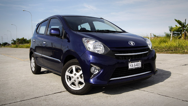 Toyota Wigo được bán ra tại Indonesia là 240 triệu đồng